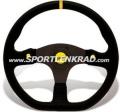 Stealth HP Corsa Sport-Lenkrad, Wildleder sw.